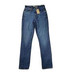 New Madewell The High-Rise Slim Boy Jeans Eco